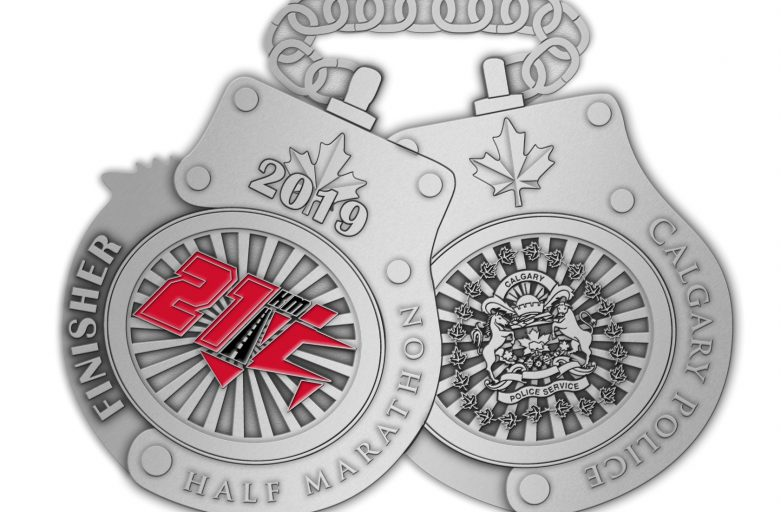 New design for race medals